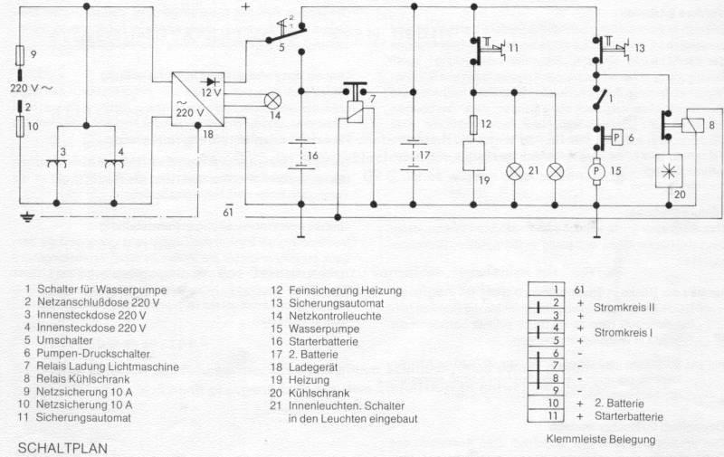 Ziemlich Wasserpumpe 220 Volt Schaltplan Ideen - Der Schaltplan ...