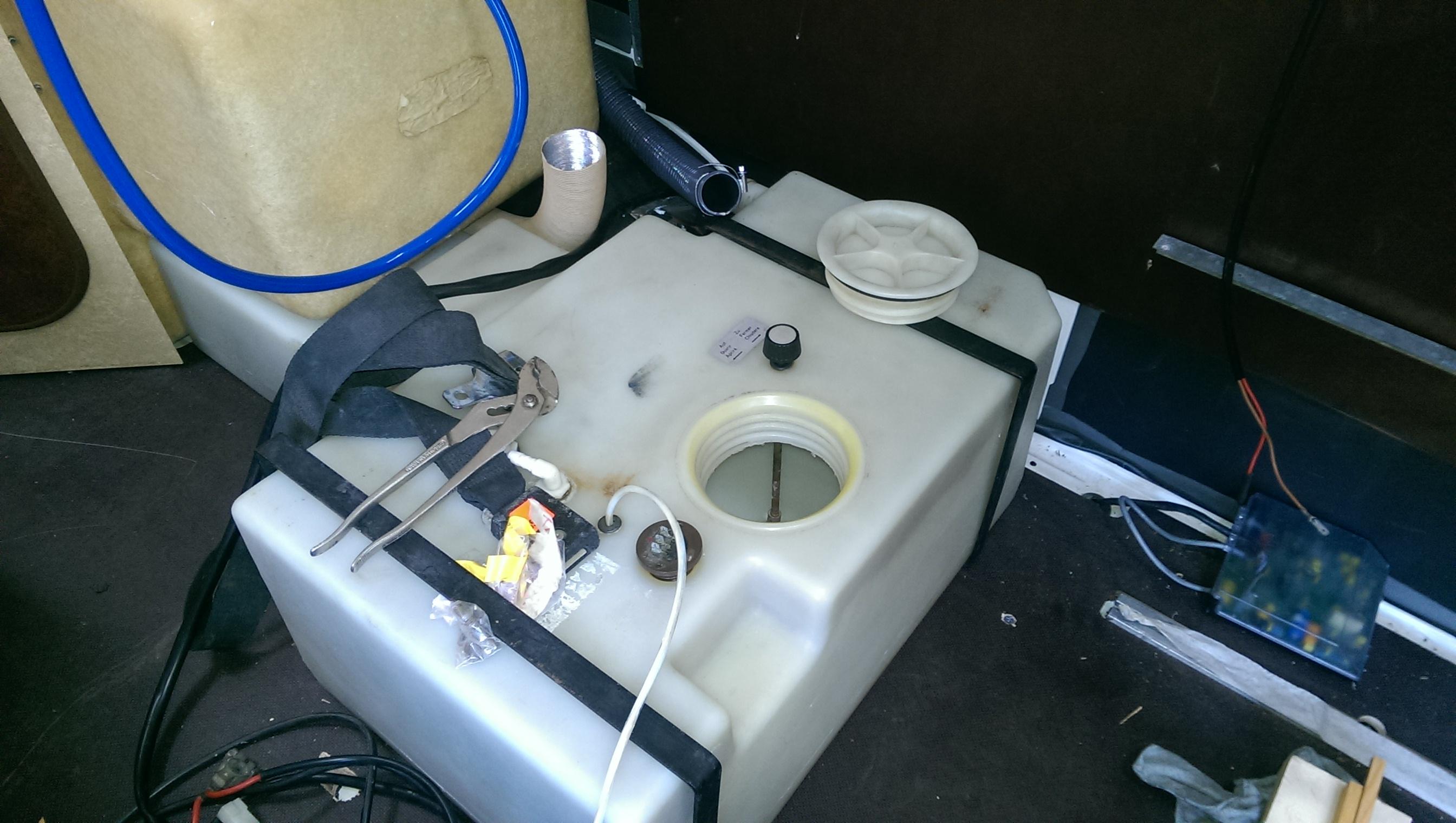 Frischwassertank